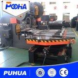 Машина CNC отверстия плиты пробивая с подавая платформой