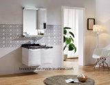 Colorer la première vanité fixée au mur de marbre de salle de bains d'éclairage LED de renivellement avec le tiroir