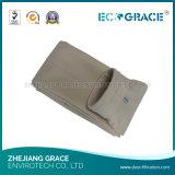 Saco de filtro industrial eficiente elevado da poeira da carcaça do saco de filtro