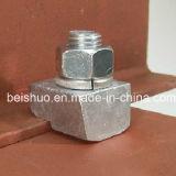 Bride universelle galvanisée de faisceau d'acier