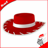 Chapéu de feltro de vaqueiro, chapéu de mulher