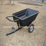 Garten ATV Dumping Trailer mit Plastic Box