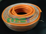 Boyau de jet de qualité de PVC pour la ferme Using