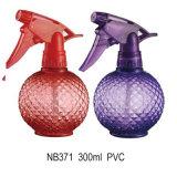 Botella del rociador del disparador del PVC del plástico mini para el jardín (NB366)