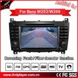 Navegación del perseguidor DVD GPS del coche de la conexión del teléfono del androide 5.1 o de la conexión de WiFi para el Benz C/Clk Hualingan de radio de Mercedes