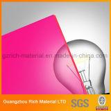 Het transparante/Doorzichtige Kleur Gegoten AcrylAcrylBlad van het board/PMMA- Perspex