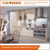 Module de cuisine blanc neuf de mélamine de Module de cuisine du modèle 2016
