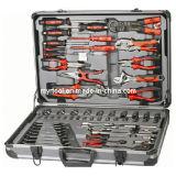 Hilfsmittel-Set der Kombinations-118PCS mit Aluminiumfall (FY118A)