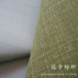 Textiles para el hogar de poliéster tela de lino para sofá