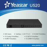 El SORBO Extention de los puertos E1/T1/J1 500 de Yeastar 2 apoyó el sistema del PBX (MyPBX U520)