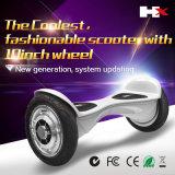 Chaud vendant bon marché 2 pouce Bluetooth de Hoverboard 10 de roue avec la batterie de Samsung