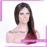 Parrucca rossa extra-lunga dei capelli umani