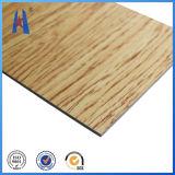 클래딩 벽 ACP/Acm를 위한 나무로 되는 알루미늄 합성 위원회