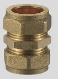 Te de la conexión (tubo plástico - tubo de cobre)