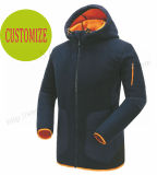 ロゴを長持ちする暖かい衣服Fw8802の毛皮が付いているスポーツジャケットよりカスタマイズしなさい