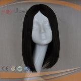 Parrucca Mixed mezza delle donne dei capelli umani di Wefted della macchina piena