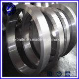 Les grandes boucles roulées sans joint d'acier inoxydable de chemin de roulement ont modifié les boucles en acier