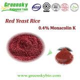 Organischer roter Hefe-Reis mit 0.4% Monacolin