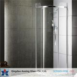 Claro templado / vidrio templado para baño de cristal con la Certificación