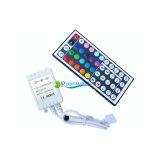 44의 키 IR RGB LED 빛 지구 리모트 관제사