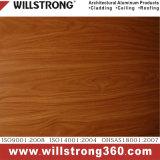 couleur composée en aluminium enduite en bois de panneau de 4mm PVDF