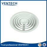 HVACのエアコン白いカラーアルミニウム天井の円形の供給の空気拡散器