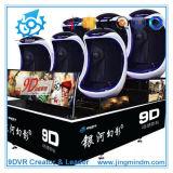 Cinema quente do simulador 9d Vr da realidade virtual das vendas