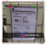Reichweiten-Typen der konkreten Beimischung/des Superplastifiziermittels Polycarboxylate senken