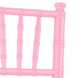 Silla rosada de Chiavari de madera sólida para la boda/Eventq