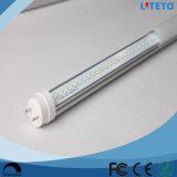 tubo claro de la cubierta T8 LED de 160lm/W 9W los 0.6m con la aprobación del Ce
