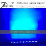 Barra do diodo emissor de luz da iluminação 18X10W RGBW da lavagem com Powercon