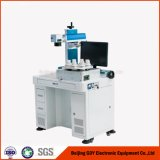 Máquina de marcado láser de fibra de mesa económica de CNC para aceros inoxidables, metales, ABS, plásticos