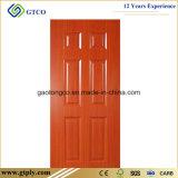 puerta moldeada HDF de Laminted de la melamina de 915X2135X3m m