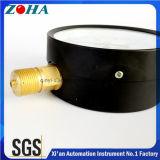 Alle Arten schwarzer Stahlkasten-Messingverbinder-Druckanzeiger liefern Soem-ODM-grosses Menge-Zubehör