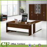 Office all'ingrosso Manager Desk Curved Design con Side Cabinet
