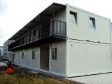 Дом контейнера новой конструкции полуфабрикат светлая стальная для жить