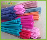 Bâtons tubulaires colorés de diffuseur