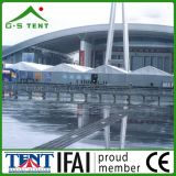Grande mostra della fiera commerciale esterna che fa pubblicità alla tenda 500m2