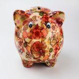 La Banca Piggy variopinta diretta di fabbricazione