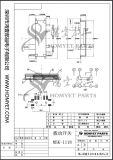 제조자 SMD 유형 (MSK-1118)를 가진 마이크로 플런저 스위치 또는 활주 스위치