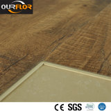 PVC Decoration Film를 가진 목제 Grain WPC Vinyl Floor Tile