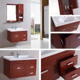 現代様式の純木のカシミラーの浴室用キャビネット