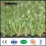 Gramado artificial da grama do aquário verde do Não-Infill com preço do competidor