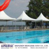 Tente en aluminium adaptée aux besoins du client de pagoda de Gazebo de PVC pour l'événement