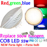 12V IP68 Plastik-LED Halogen 5000lm, Dimmable LED PAR56 Lampen der Abwechslungs-300W 500W