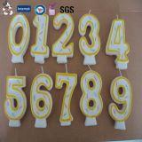 Producto profesional de China personalizado velas Shaped de encargo respetuosas del medio ambiente de la materia prima