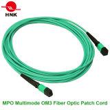 Singlemode Koord van het Flard van Multimode Vezel MPO Optische