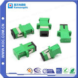 Sc/APC Shutter Adapter per Fiber Optic Connector