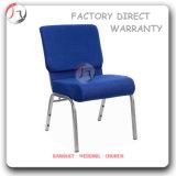 Blauer starker Sitzergonomischer Aufenthaltsraum-Kirche-Stuhl (JC-42)