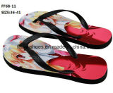 Большинств ботинки тапочки Flop Flip популярного печатание вскользь (FF68-11)